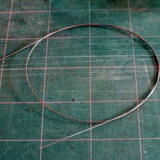 "Piano Wire - 0.015"" / 0.38mm diameter"