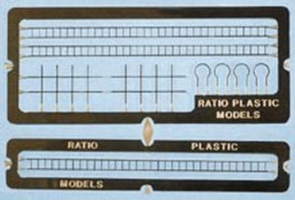 Ratio 218 Signal Laddering (N gauge etched brass)