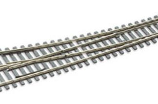 Peco SL-E186 Code 75 Electrofrog Curved Right Hand Point (OO gauge)