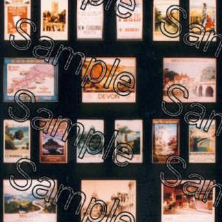 Tiny Signs OO73 GWR Travel Posters (OO gauge)