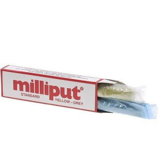 Milliput Standard Epoxy Putty (Yellow - Grey)