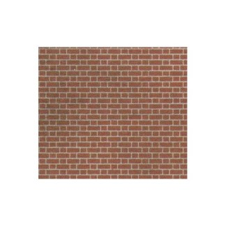 Metcalfe PN100 Red Brick Sheets (N scale)