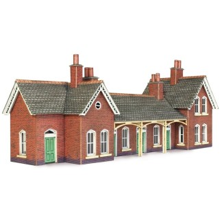 Metcalfe PN137 Country Station (N scale card kit)