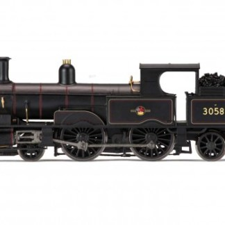 Hornby R3334 Class 415 Adams Radial 4-4-2T 30582 in BR black with late crest  (OO gauge)