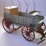 Cowboy Chuck Wagon 1860 Model Trailways 1 12 Scale Non Ship Categorised Builds Model Ship World