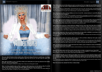 ModeLS Magazine - Issue 6 - Flora Raven (Floraniana)