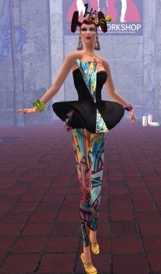 MWSC Graffiti Couture - Eleseren Brianna