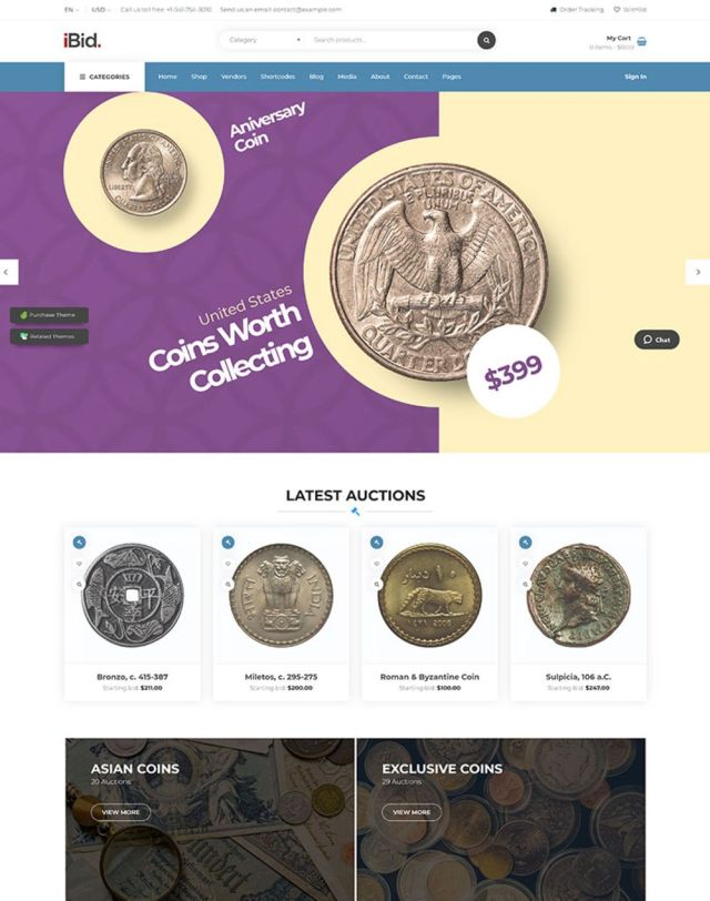 Numismatics Auctions