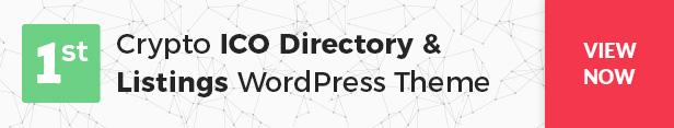 Cryptic - Cryptocurrency WordPress Theme - 15