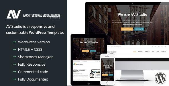 AV Studio – Agency Theme