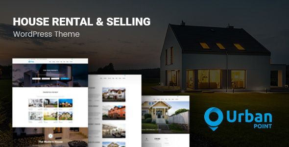 UrbanPoint – House Selling & Rental Theme