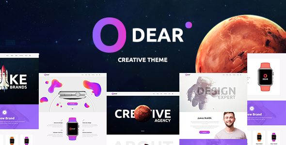 Odear – Multi-Concept Creative WordPress Theme