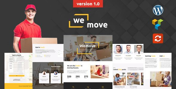 WeMove – Home Moving & Logistics Theme