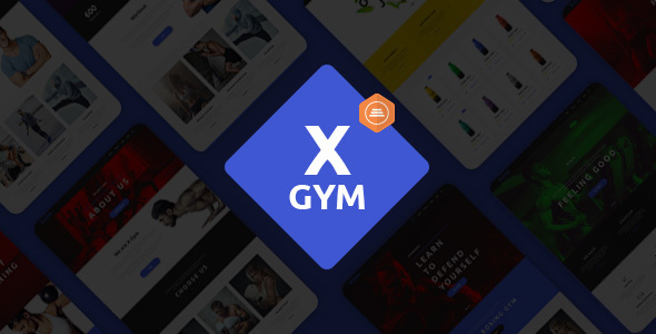 X-Gym – Fitness & Sports WordPress Theme