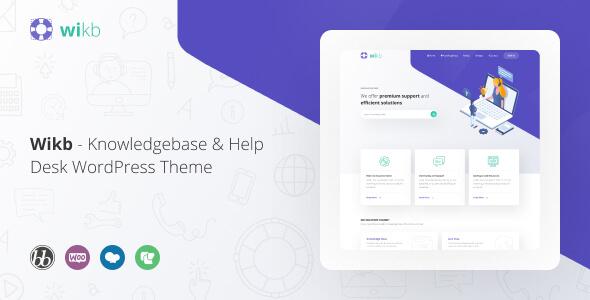 Wikb - Knowledgebase & Help Desk Theme