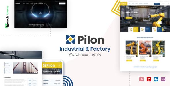 Pilon – Industrial & Factory WordPress Theme