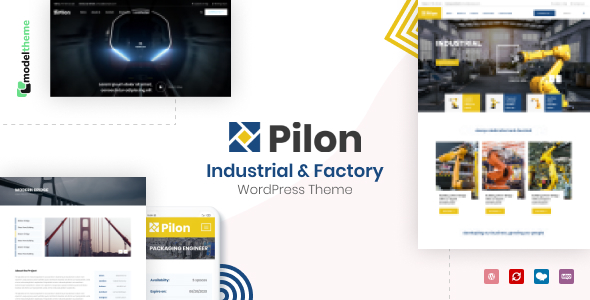 Pilon – Industrial & Factory WordPress Theme