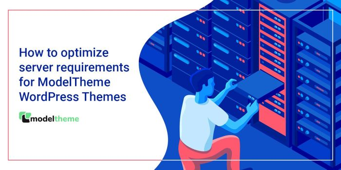 How to optimize server requirements for ModelTheme WordPress Themes
