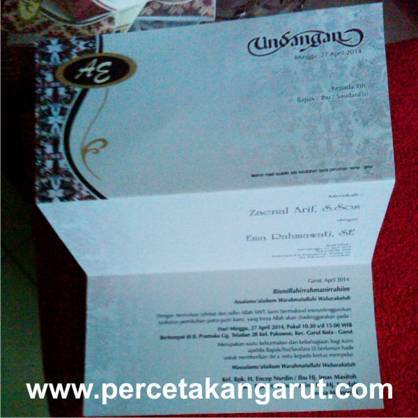 Undangan Pernikahan File Corel Linoabrazil
