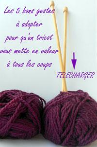Les 10 gestes à adopter pour qu'un tricot vous mette en valeur à tous les coups