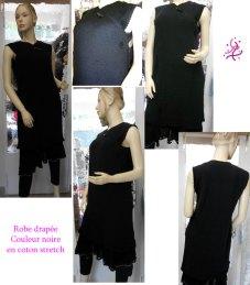 La robe chasuble tricotée à enfiler pour une soirée décontractée