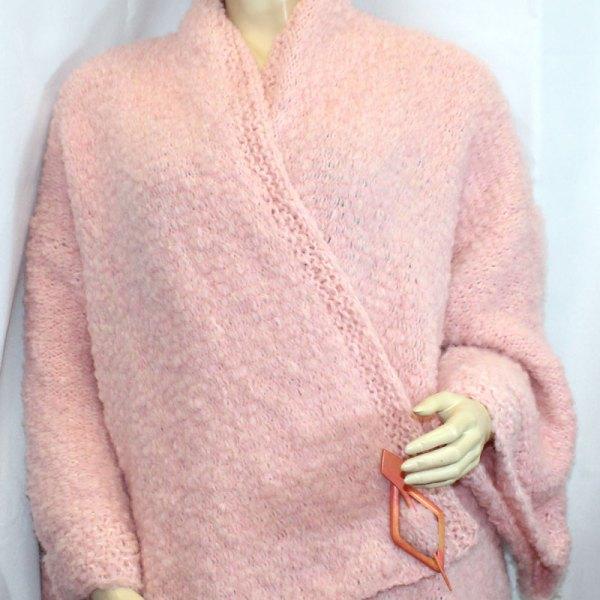 Kimono Flocon couleur rose