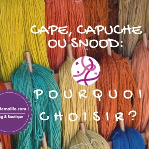 Cape, capuche ou snood: pourquoi choisir? La cape multifacettes