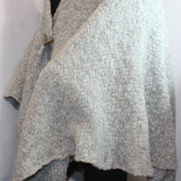 Cape Flocon, couleur gris clair