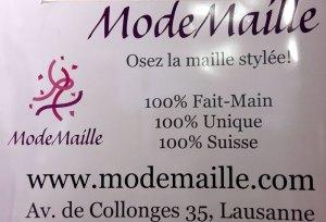 ModeMaille 100% fait-main, unique, suisse