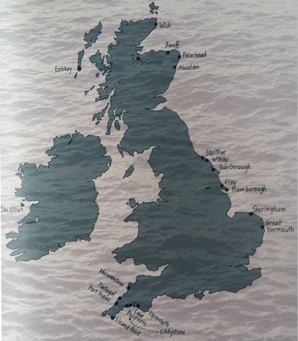 Les régions traitées