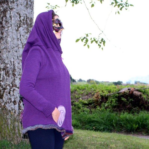 Veste de lutin violette