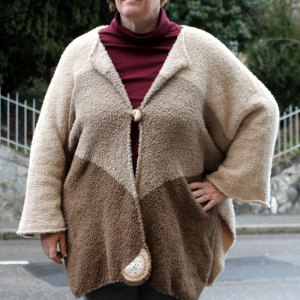 Veste Cassata beige-camel