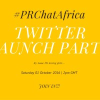 MMPR FOCUS: PR CHAT AFRICA MAKES ITS DEBUT ON TWITTER...