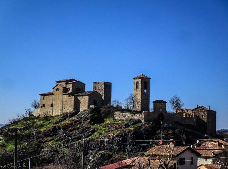 Panoramica sul borgo di Pompeano - Foto Luca Nacchio