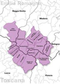 Mappa Mirtillo nero