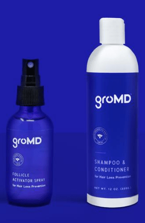 GroMD - Argan Oil Enriched Hair Loss Shampoo