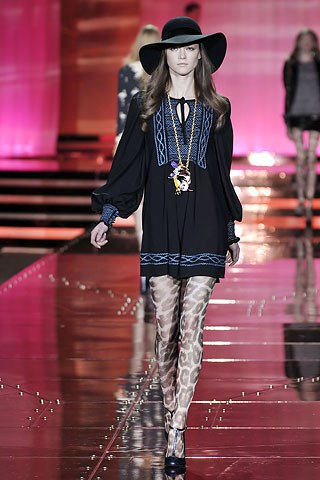 Just Cavalli Fall 2008, Source: Vogue.com