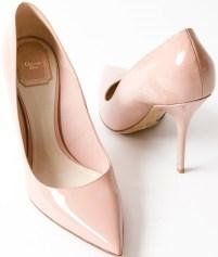 Lacquer Pumps i Nude Pink Dior par