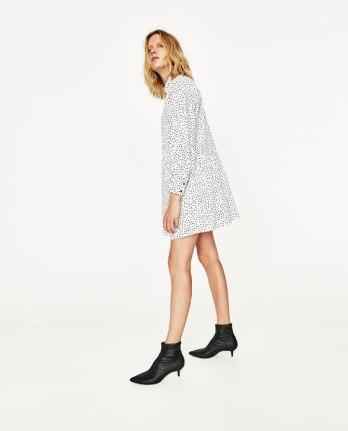 A $50 polka dot Zara dress