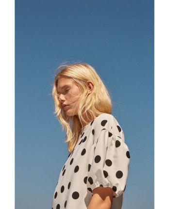 Zara has a host of polka dot pieces.
