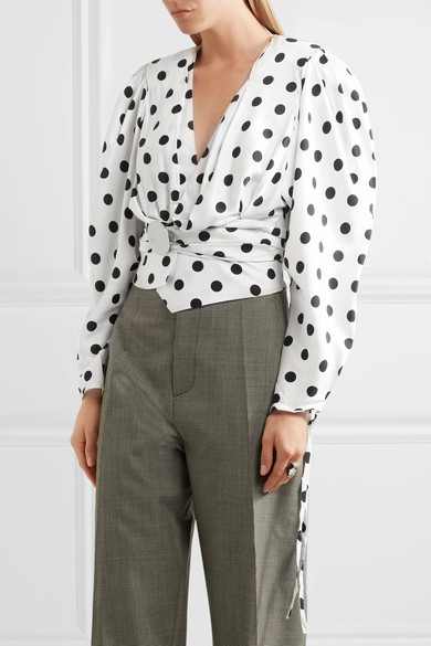 The polka dot resurgence is all due to Jacquemus.