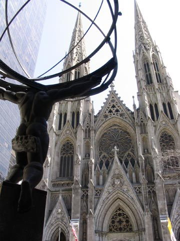 St. Patrick's Cathedral, Fifth Avenue