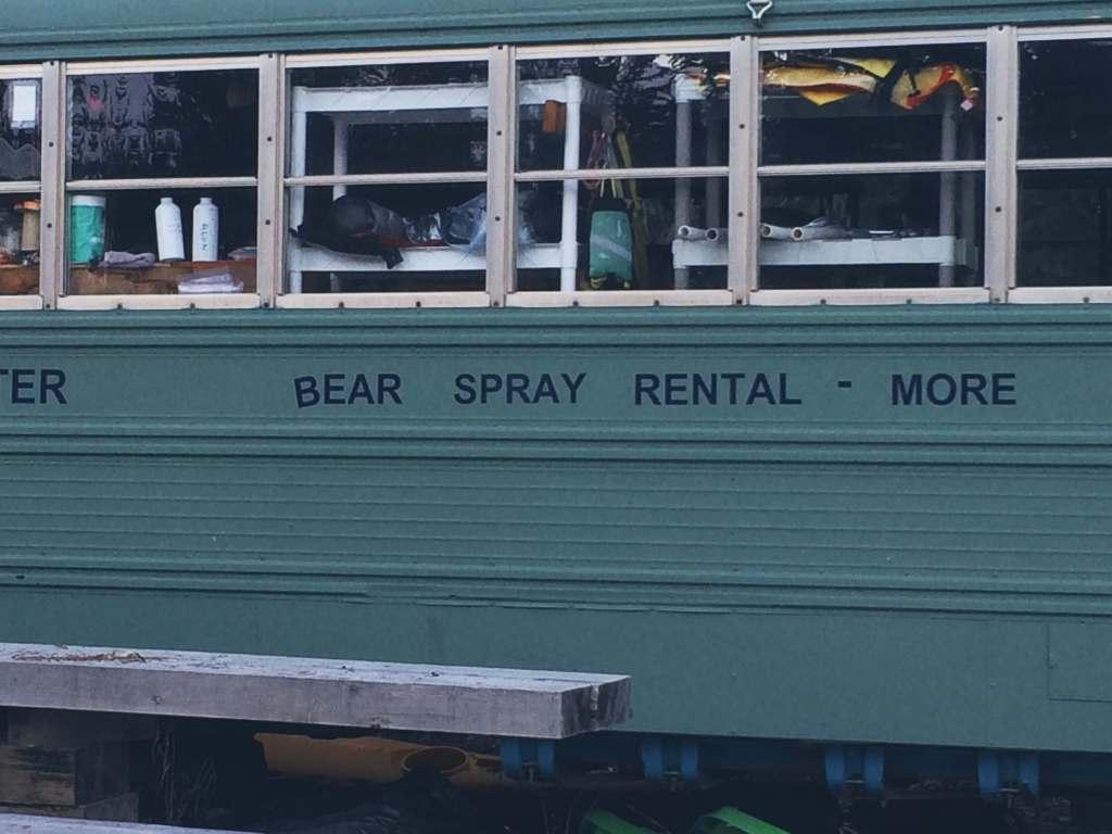 Seaward Alaska - Bear Spray Rental