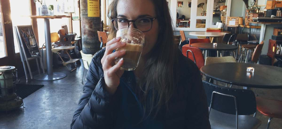 Vegan coffee shop - Reykjavik, Iceland
