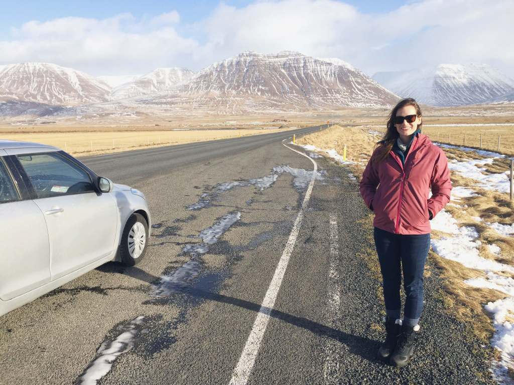 Travel Iceland - Driving to Akureyri
