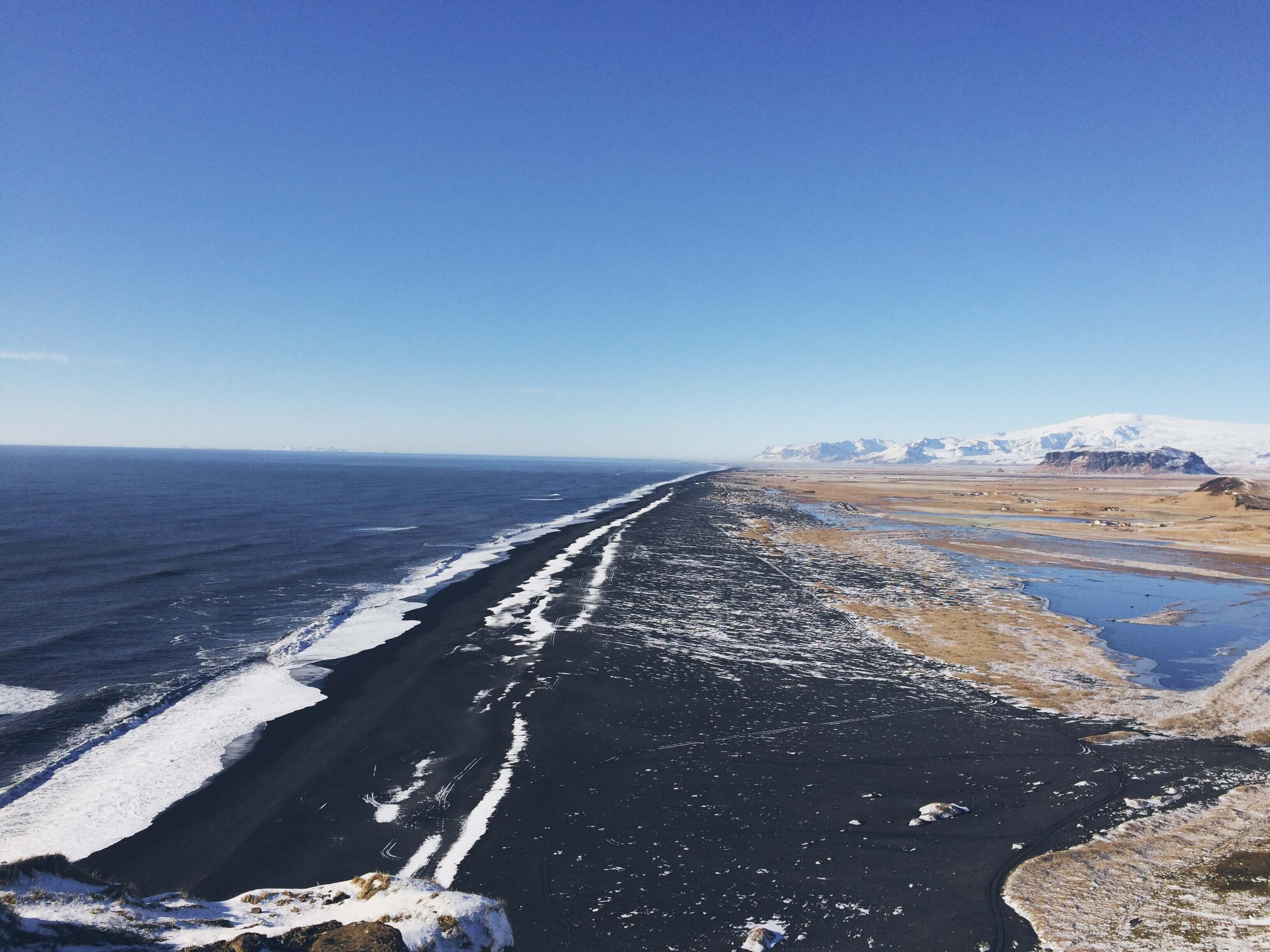 Views from Dyrhólaey, Iceland's southeastern coast