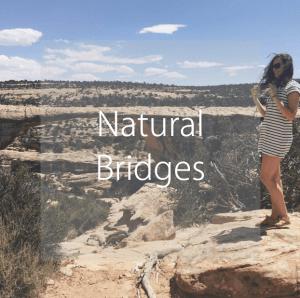 visit Natural Bridges National Monument, Utah