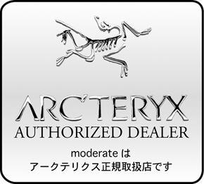 moderate(モデラート)はArcteryx アークテリクス 正規取扱店です。