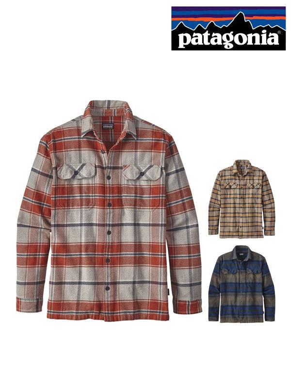 patagonia,パタゴニア,Men's LS Fjord Flannel Shirt - Asian Fit,メンズ・ロングスリーブ・フィヨルド・フランネル・シャツ(アジア・フィット)