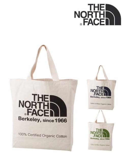 THE NORTH FACE,ノースフェイス,ORGANIC COTTON TOTE,オーガニックコットントート